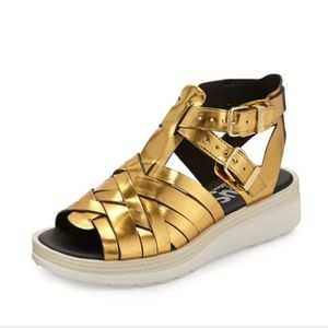 Circus by Sam Edelman LEOW Platform Gold Sandals